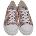 WOVEN1 WHITE MARBLE & RUSTED METAL (R) Women s Low Top Canvas Sneakers View1