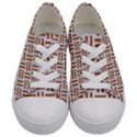 WOVEN1 WHITE MARBLE & RUSTED METAL (R) Kids  Low Top Canvas Sneakers View1
