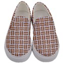 WOVEN1 WHITE MARBLE & RUSTED METAL (R) Men s Canvas Slip Ons View1