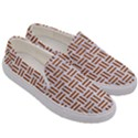 WOVEN1 WHITE MARBLE & RUSTED METAL (R) Men s Canvas Slip Ons View3