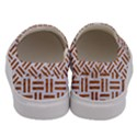 WOVEN1 WHITE MARBLE & RUSTED METAL (R) Men s Canvas Slip Ons View4