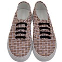 WOVEN1 WHITE MARBLE & RUSTED METAL (R) Men s Classic Low Top Sneakers View1