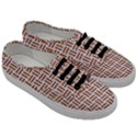 WOVEN1 WHITE MARBLE & RUSTED METAL (R) Men s Classic Low Top Sneakers View3