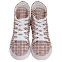 WOVEN1 WHITE MARBLE & RUSTED METAL (R) Women s Hi-Top Skate Sneakers View1