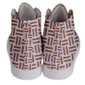 WOVEN1 WHITE MARBLE & RUSTED METAL (R) Women s Hi-Top Skate Sneakers View4