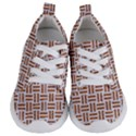 WOVEN1 WHITE MARBLE & RUSTED METAL (R) Kids  Lightweight Sports Shoes View1