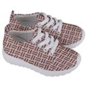 WOVEN1 WHITE MARBLE & RUSTED METAL (R) Kids  Lightweight Sports Shoes View3