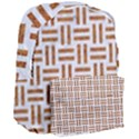 WOVEN1 WHITE MARBLE & RUSTED METAL (R) Giant Full Print Backpack View3