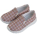 WOVEN1 WHITE MARBLE & RUSTED METAL (R) Kid s Lightweight Slip Ons View2