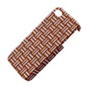 WOVEN1 WHITE MARBLE & RUSTED METAL Apple iPhone 4/4S Hardshell Case View4