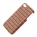 WOVEN1 WHITE MARBLE & RUSTED METAL Apple iPhone 4/4S Premium Hardshell Case View4