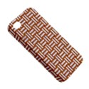 WOVEN1 WHITE MARBLE & RUSTED METAL Apple iPhone 4/4S Premium Hardshell Case View5