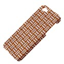 WOVEN1 WHITE MARBLE & RUSTED METAL Apple iPhone 5 Hardshell Case View4