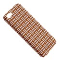 WOVEN1 WHITE MARBLE & RUSTED METAL Apple iPhone 5 Hardshell Case View5