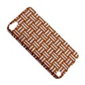 WOVEN1 WHITE MARBLE & RUSTED METAL Apple iPod Touch 5 Hardshell Case View5