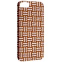 WOVEN1 WHITE MARBLE & RUSTED METAL Apple iPhone 5 Classic Hardshell Case View2