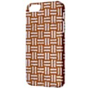 WOVEN1 WHITE MARBLE & RUSTED METAL Apple iPhone 5 Classic Hardshell Case View3