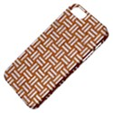 WOVEN1 WHITE MARBLE & RUSTED METAL Apple iPhone 5 Classic Hardshell Case View4