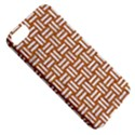 WOVEN1 WHITE MARBLE & RUSTED METAL Apple iPhone 5 Classic Hardshell Case View5
