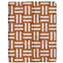 WOVEN1 WHITE MARBLE & RUSTED METAL Apple iPad 3/4 Flip Case View1