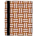 WOVEN1 WHITE MARBLE & RUSTED METAL Apple iPad 3/4 Flip Case View3