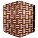 WOVEN1 WHITE MARBLE & RUSTED METAL Apple iPad 3/4 Flip Case View4