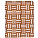 WOVEN1 WHITE MARBLE & RUSTED METAL Apple iPad Mini Flip Case View1
