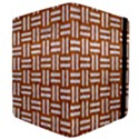 WOVEN1 WHITE MARBLE & RUSTED METAL Apple iPad Mini Flip Case View4