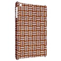 WOVEN1 WHITE MARBLE & RUSTED METAL Apple iPad Mini Hardshell Case View2