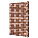 WOVEN1 WHITE MARBLE & RUSTED METAL Apple iPad Mini Hardshell Case View3