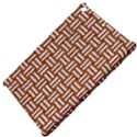WOVEN1 WHITE MARBLE & RUSTED METAL Apple iPad Mini Hardshell Case View4