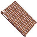 WOVEN1 WHITE MARBLE & RUSTED METAL Apple iPad Mini Hardshell Case View5