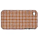WOVEN1 WHITE MARBLE & RUSTED METAL Apple iPhone 4/4S Hardshell Case (PC+Silicone) View1