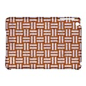 WOVEN1 WHITE MARBLE & RUSTED METAL Apple iPad Mini Hardshell Case (Compatible with Smart Cover) View1