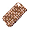 WOVEN1 WHITE MARBLE & RUSTED METAL Apple iPhone 4/4S Hardshell Case with Stand View4