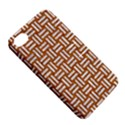 WOVEN1 WHITE MARBLE & RUSTED METAL Apple iPhone 4/4S Hardshell Case with Stand View5