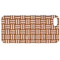 WOVEN1 WHITE MARBLE & RUSTED METAL Apple iPhone 5 Hardshell Case with Stand View1