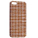 WOVEN1 WHITE MARBLE & RUSTED METAL Apple iPhone 5 Hardshell Case with Stand View2