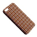 WOVEN1 WHITE MARBLE & RUSTED METAL Apple iPhone 5 Premium Hardshell Case View5