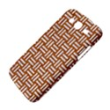 WOVEN1 WHITE MARBLE & RUSTED METAL Samsung Galaxy Mega 5.8 I9152 Hardshell Case  View4