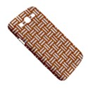WOVEN1 WHITE MARBLE & RUSTED METAL Samsung Galaxy Mega 5.8 I9152 Hardshell Case  View5
