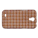 WOVEN1 WHITE MARBLE & RUSTED METAL Samsung Galaxy Mega 6.3  I9200 Hardshell Case View1