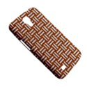 WOVEN1 WHITE MARBLE & RUSTED METAL Samsung Galaxy Mega 6.3  I9200 Hardshell Case View5