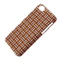 WOVEN1 WHITE MARBLE & RUSTED METAL Apple iPhone 5C Hardshell Case View4