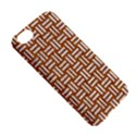 WOVEN1 WHITE MARBLE & RUSTED METAL Apple iPhone 5C Hardshell Case View5
