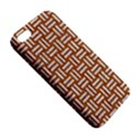 WOVEN1 WHITE MARBLE & RUSTED METAL iPhone 5S/ SE Premium Hardshell Case View5