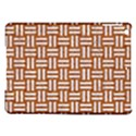 WOVEN1 WHITE MARBLE & RUSTED METAL iPad Air Hardshell Cases View1