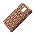 WOVEN1 WHITE MARBLE & RUSTED METAL Samsung Galaxy Note 4 Hardshell Case View4