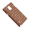 WOVEN1 WHITE MARBLE & RUSTED METAL Samsung Galaxy Note 4 Hardshell Case View5