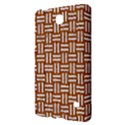 WOVEN1 WHITE MARBLE & RUSTED METAL Samsung Galaxy Tab 4 (8 ) Hardshell Case  View2